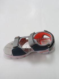 EX1006 Sandały dziecięce KF-11 BLUE/ORANG