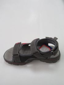 EX1006 Sandały dziecięce KF-03 GREY/RED
