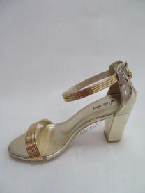 168 Sandały damskie 6716Gold