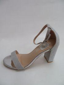168 Sandały damskie QL-163Silver