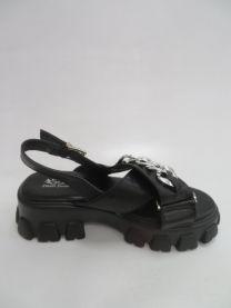 EX0603 Sandały damskie 159BLACK