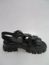 EX0603 Sandały damskie 158BLACK
