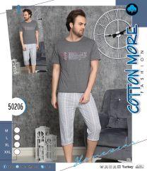 EX2603 Piżama męskie 50206  (Produkt Turkey)