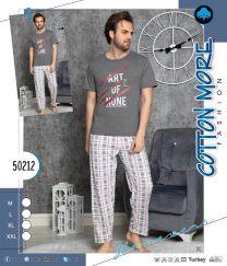 EX2603 Piżama męskie 50212  (Produkt Turkey)