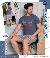 EX2603 Piżama męskie 50186  (Produkt Turkey)