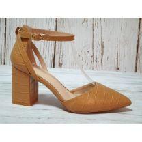 2311 Sandały damskie LE079Camel
