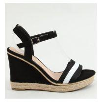 206 Sandały damskie LL6320 BLACK