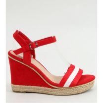 206 Sandały damskie LL6320 RED