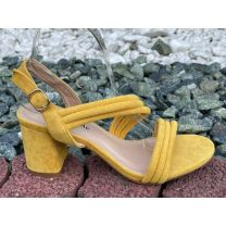 206 Sandały damskie OM1203 YELLOW