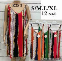 EX2306 Sukienka damska R25-2  (Product Italy)