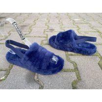 0310 Klapki damskie S-1026Y BLUE