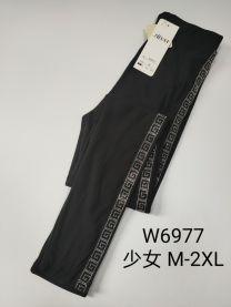 EX2307 Legginsy damskie W6977