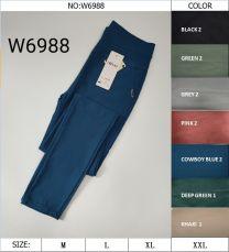EX2307 Legginsy damskie W6988